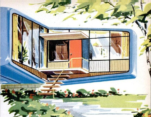 Archive Gallery: PopSci Envisions Your Future Home