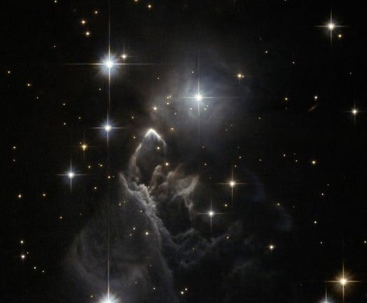 Hubble Shoots a Spooky Snapshot of a Faraway Haunted Nebula
