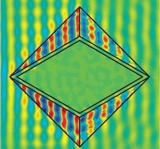The First 'Perfect' Invisibility Cloak Completely Conceals Objects (From Microwaves)