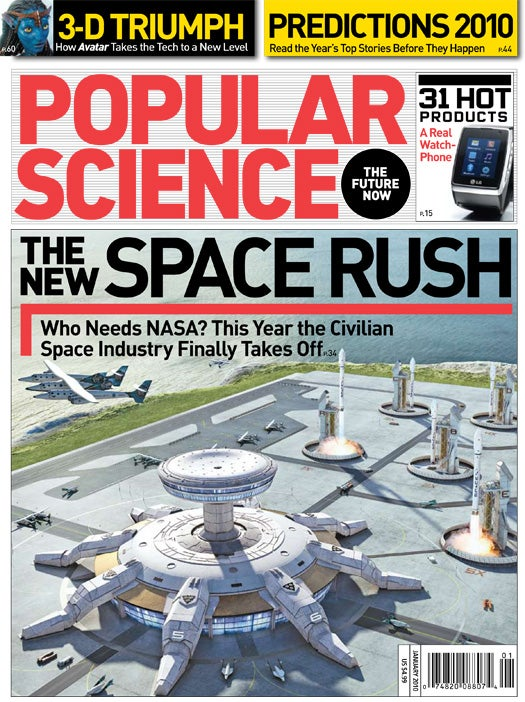 January 2010 Issue: The New Space Rush
