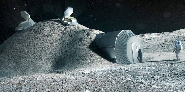 Starchitect Norman Foster To Design A 3-D Printed Lunar Base
