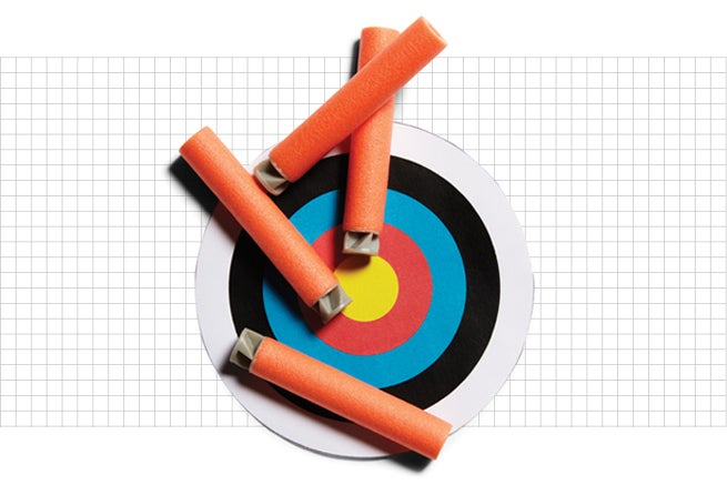 Nerf accustrike darts