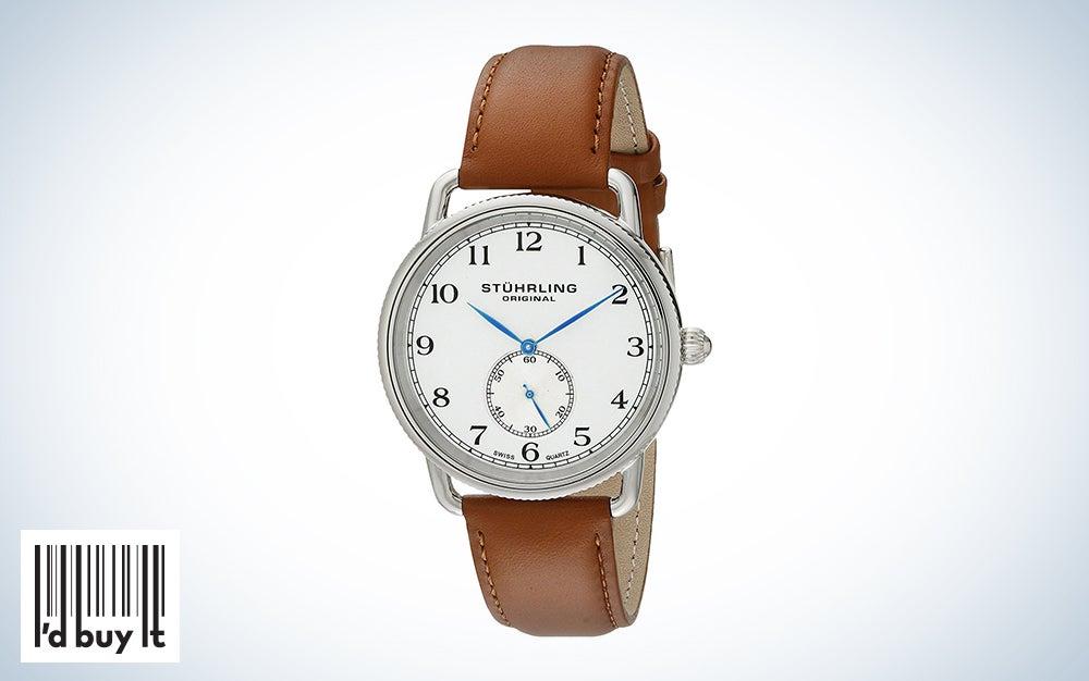 Stuhrling Original Classic Cuvette Wrist Watch