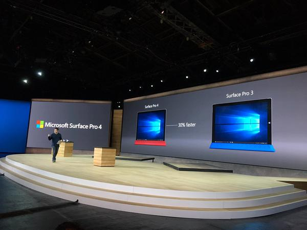 Microsoft Announces New Surface Pro 4 Hybrid Talet PC