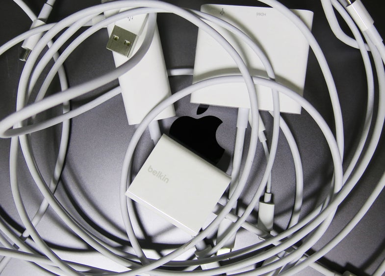 Macbook and dongles