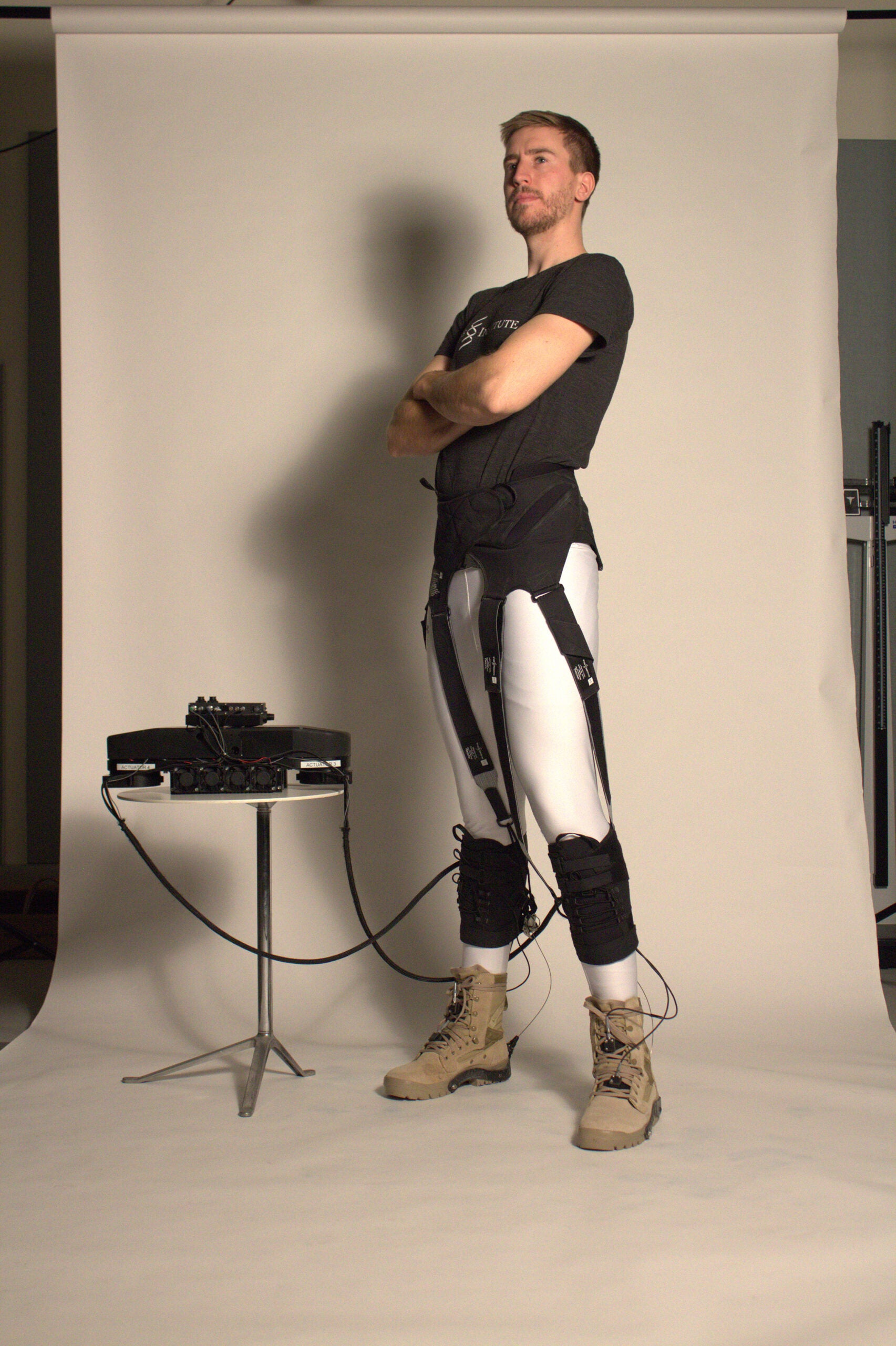 This soft-shelled exosuit might put Iron Man's duds to shame