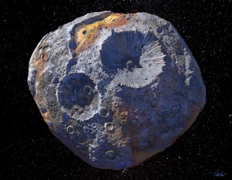 NASA's new Psyche mission will take us to a metal asteroid for the first time