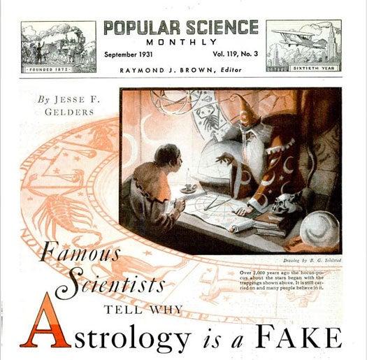 Astrology: September 1931