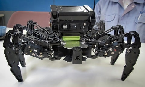 Video: New Creepy, Customizable and Cheap Spider-Bot Stomps Along On Six Legs
