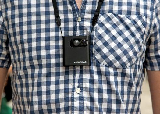 Testing the Goods: Vicon Revue, a Wearable Lifeblogging Camera