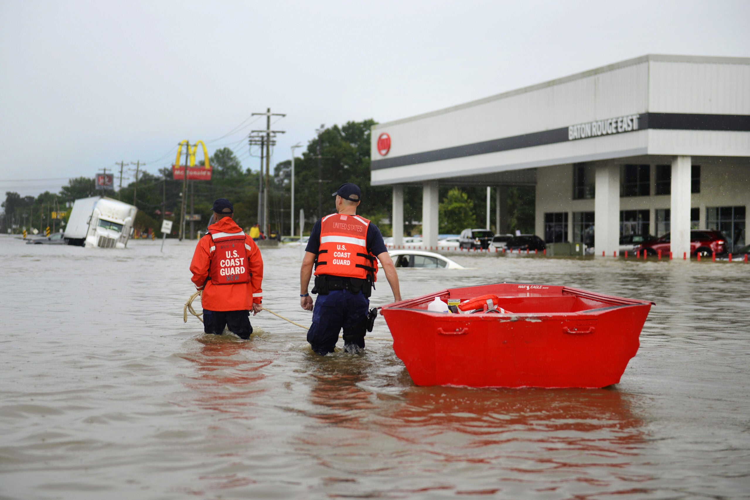 Why Is Louisiana Flooding So Badly, And How Can We Prepare For It Next Time?