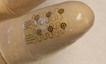 Electronic 'Smart Fingertips' Could Give Robots and Doctors Virtual Touch