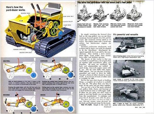 Yard Tractor: May 1967