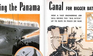 How The Panama Canal Changed The Shape Of War