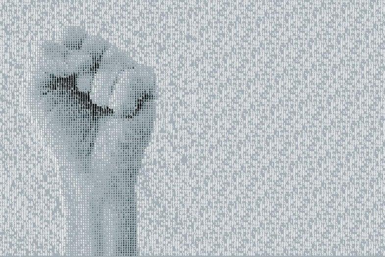 Typography Hand
