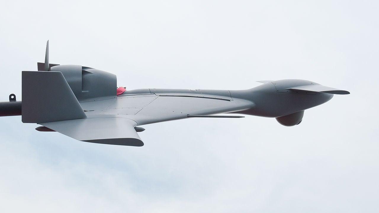 Harop Drone At 2013 Paris Air Show