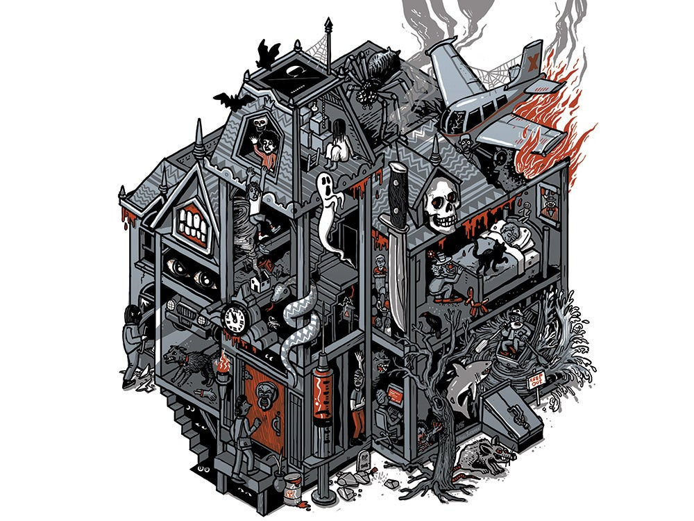 ultimate fear factory illustration