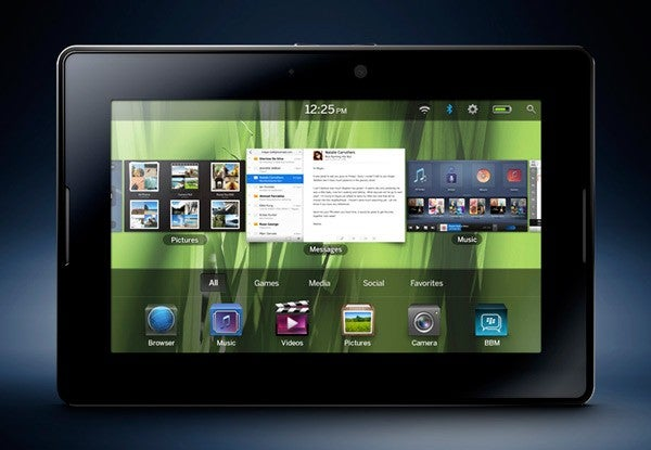 RIM's New PlayBook, the Long-Awaited BlackBerry Tablet, Brings Suits Into the Tablet Age