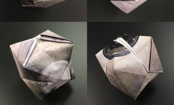 Make Your Own Origami Space Habitat