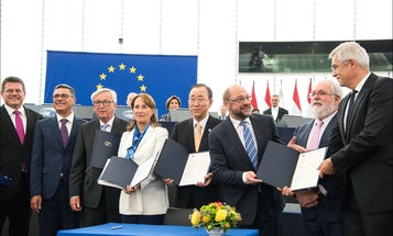 Paris Agreement Is On Track To Enter Into Force With European Union Vote