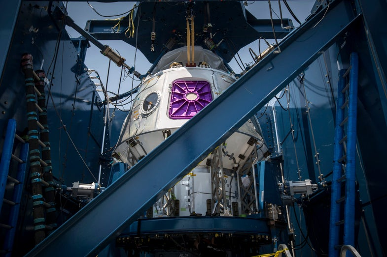 crew dragon pressure test