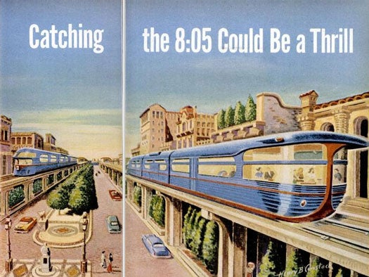 Archive Gallery: Thrilling Trains of the Future