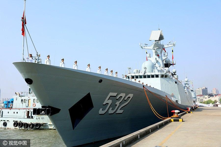 Type 054A Jingzhou Frigate China