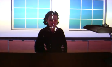 Video: Use Two Kinects For Real-Time 3-D Holographic Video Chat