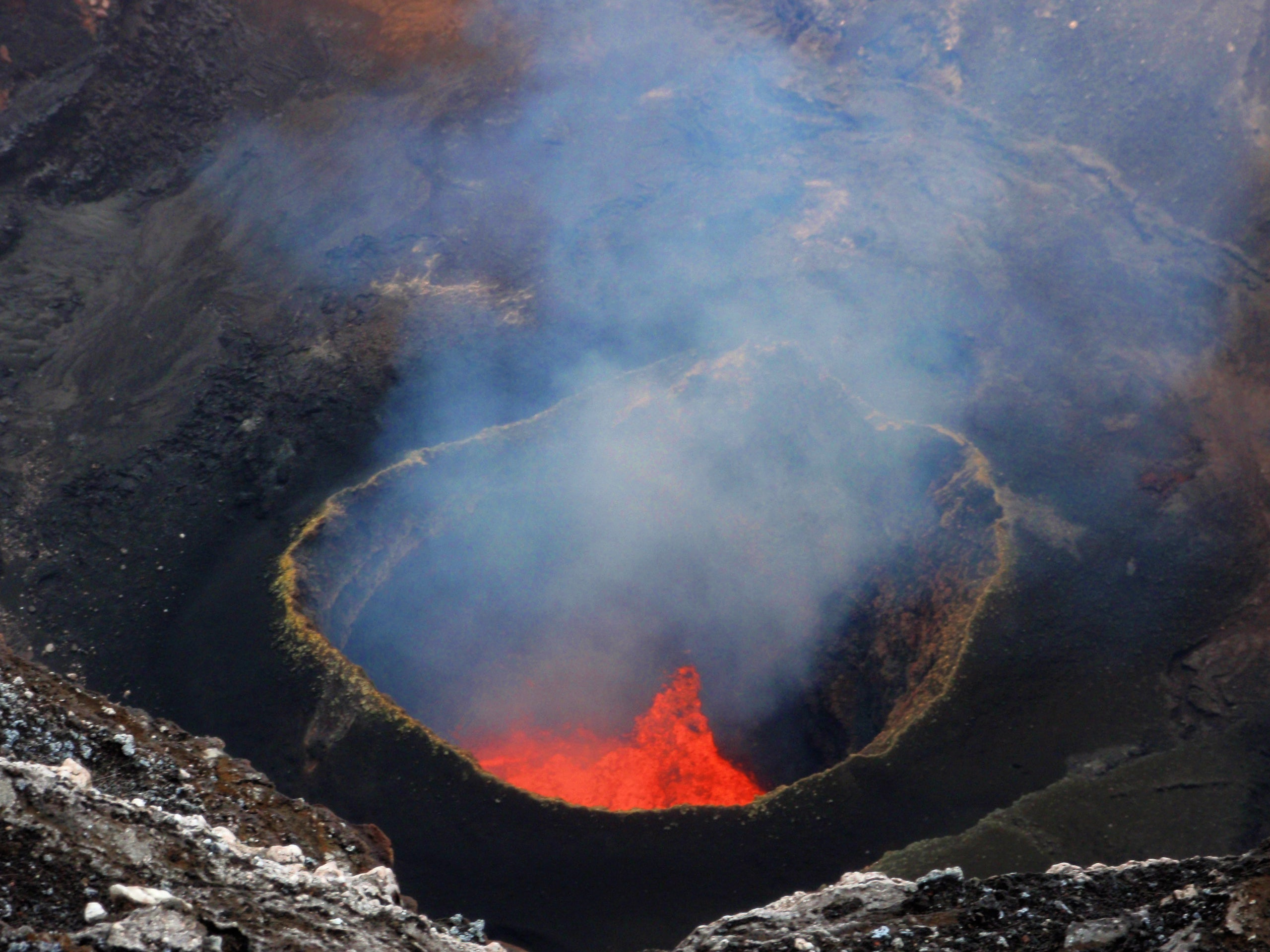 Drones Mapped This Giant Volcano, And The 3D Rendering Is Awesome