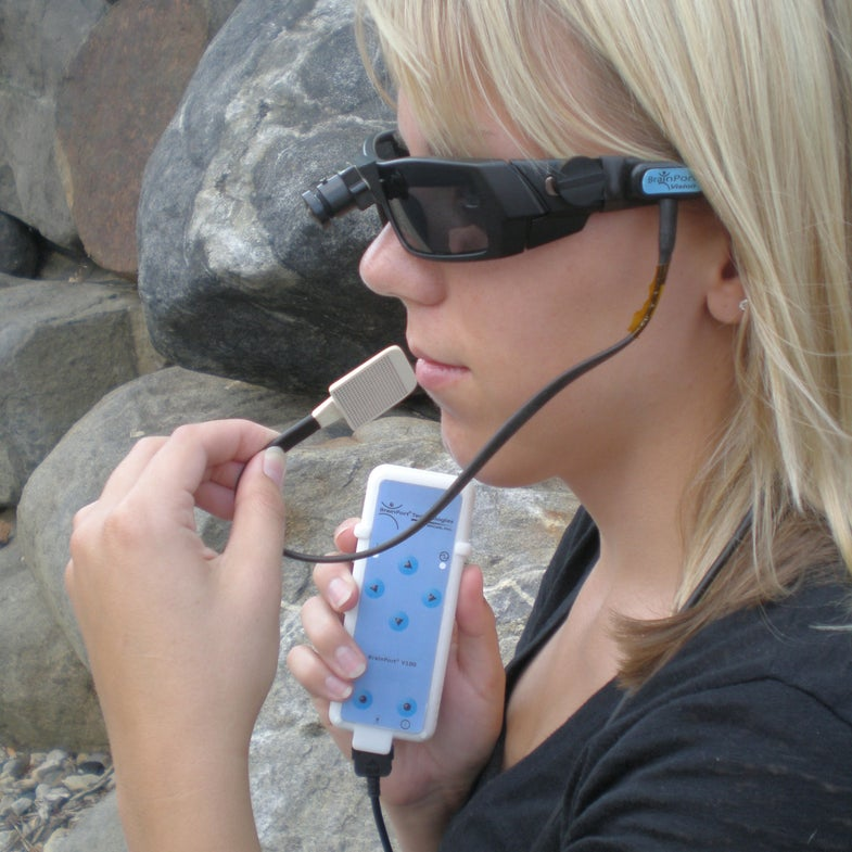 Device That Helps Blind People See With Their Tongues Just Won FDA Approval