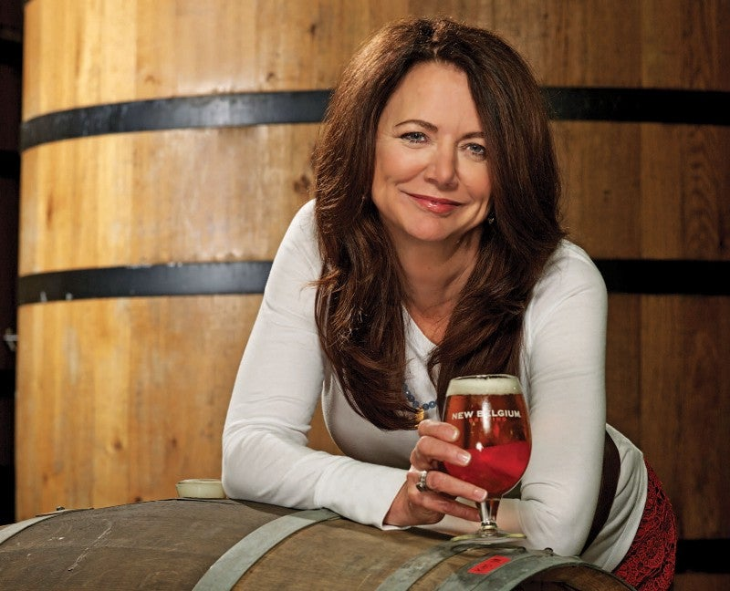 New Belgium co-founder Kim Jordan has pushed for conservation measures across the industry.