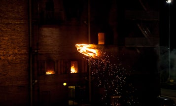 Revealed: How The Human Torch Drone Flew