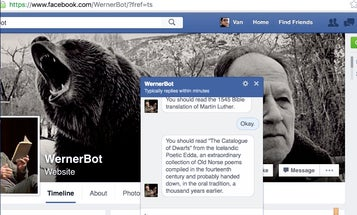 Want To Be Yelled At By Werner Herzog? There's A Bot For That
