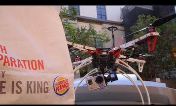 Why Did A Drone In San Francisco Drop Burgers On The Homeless?