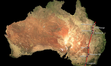 The Largest Continental Chain Of Volcanoes Ever Has Just Been Discovered In Australia