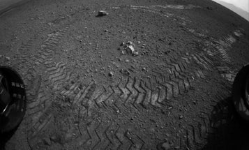 Mars Rover Curiosity's Tracks Are More Than Just Skid Marks in the Martian Dirt