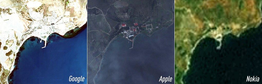 Does Apple Maps Jeopardize National Security?