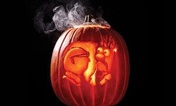 Create A Smoking Pumpkin With An E-Cigarette
