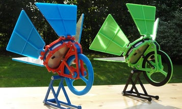 This Solar-Powered Engine Can Be Made With A 3D Printer