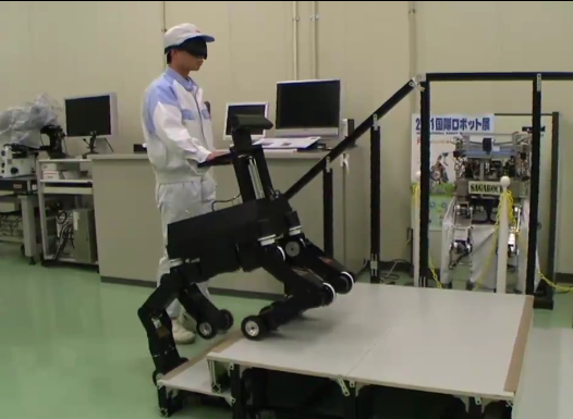 Video: Kinect Provides the Seeing Eye in a Robotic Guide Dog for the Blind