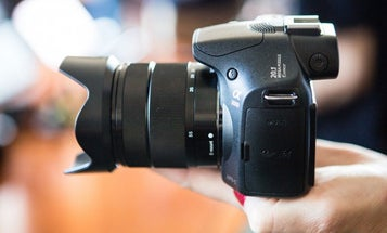 Sony Introduces Oddball $400 DSLR-Looking Camera Thing