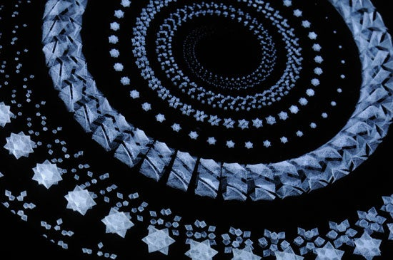 Video: Laser-Etched Crystal Zoetrope Embeds Victorian-Era 3-D Animation in Your Table