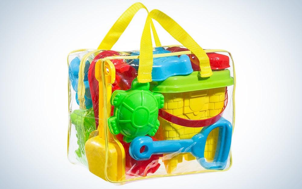 Click N' Play 18Piece Beach Sand Toy Set