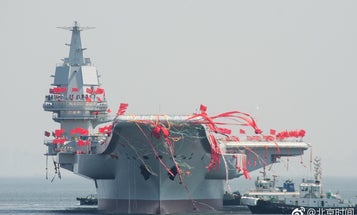 China's new aircraft carrier suggests a powerful navy in the works