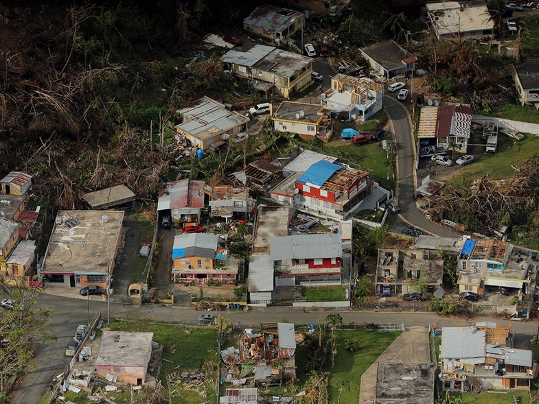 We can't blame Hurricane Maria's high death toll on the storm