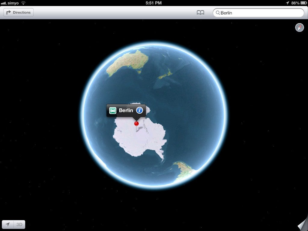 On The New Apple Maps: What Would It Take For Us To Leave the iPhone?