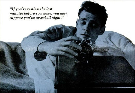The Secrets of Slumber, January 1957