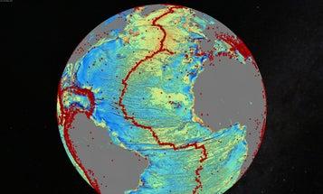 Satellite Data Maps Sea Floor's Hidden Depths
