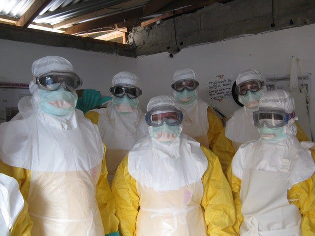 When Fighting Ebola, PPE Practice Makes Perfect