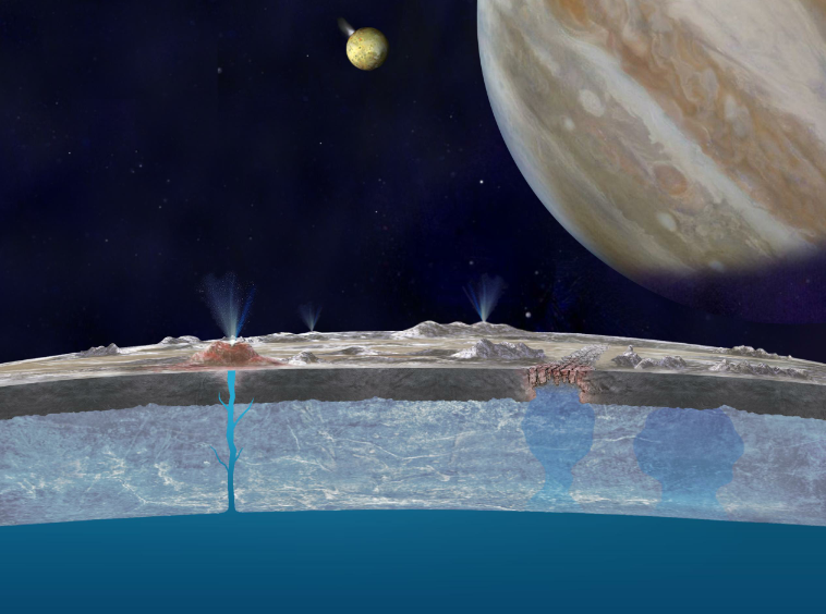 There's Salt Water On The Surface Of Europa, Which Could Be Good News For Extraterrestrial Life